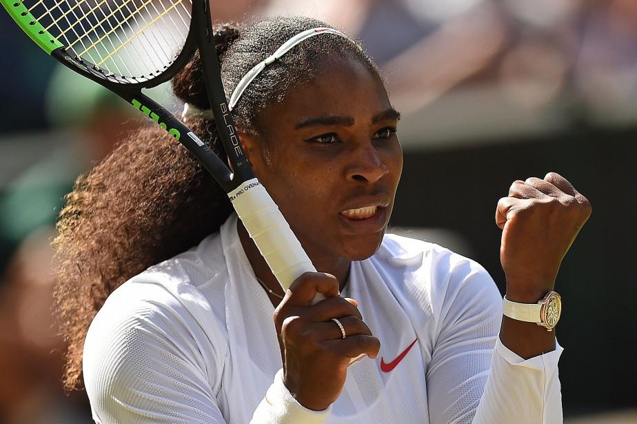 Serena Williamsn'est plus qu'à deux victoires d'égaler Margaret... (Photo Oli Scarff, AFP)
