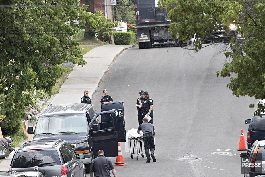 Selon les policiers, le camionneur n'aurait pas eu... (Patrick Sanfaçon, La Presse)