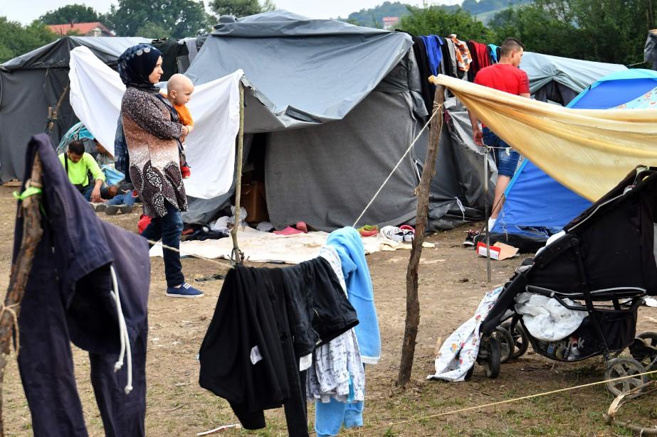Les gouvernements, en plein durcissement migratoire, notamment en... (PHOTO ELVIS BARUKCIC, archives Agence France-Presse)