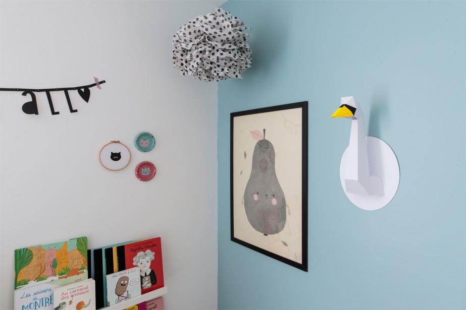 Pompons haut perchés:La chambre de Lou (Photo Hugo-Sébastien Aubert, La Presse)