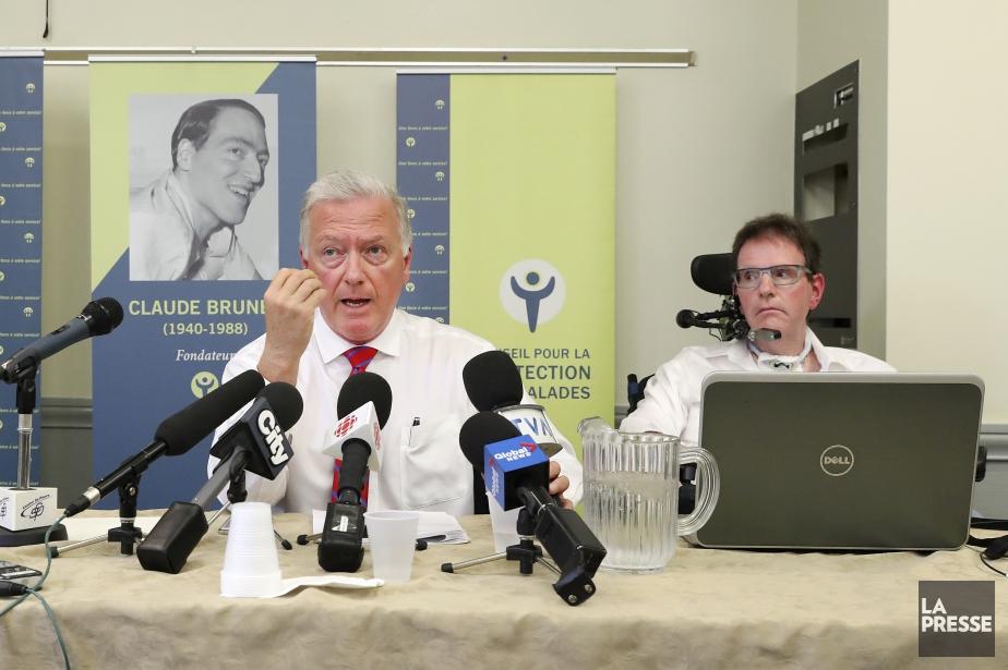 Paul Brunet,président du conseil d'administration du Conseil de... (Photo Robert Skinner, La Presse)