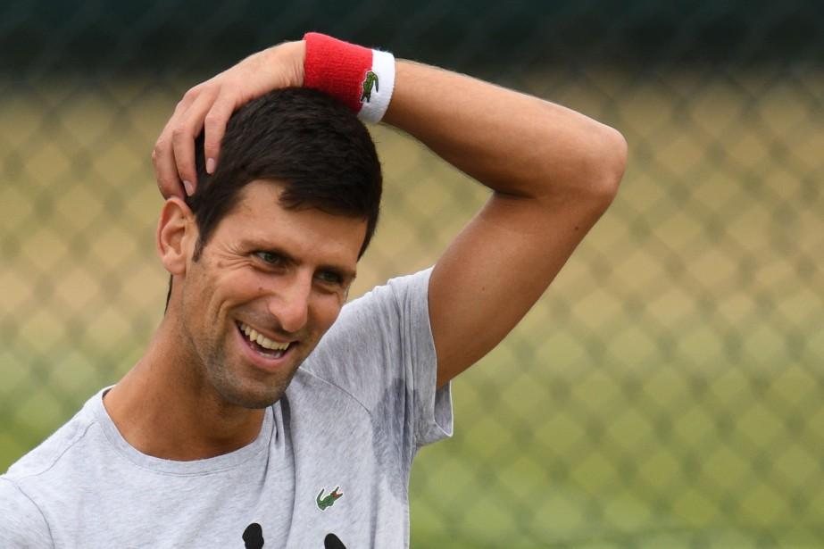 Novak Djokovic... (PHOTO AFP)