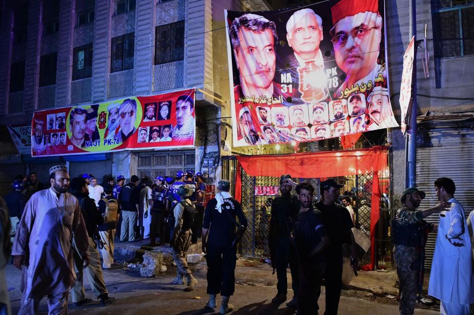 Selon la police l'explosion est survenue au moment... (PHOTO AFP)