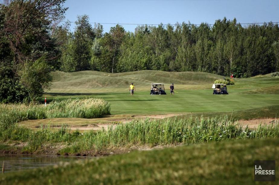 Le terrain du Club de golf MétropolitainAnjou, dans... (Photo OlivierJean, La Presse)