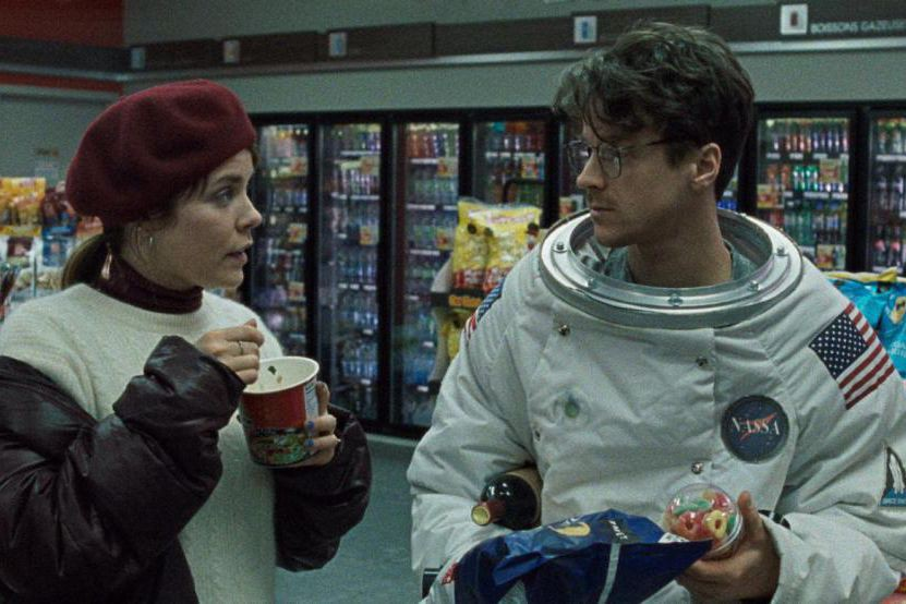 Noémie O'Farrell et Frédéric Lemay dans Lunar-Orbit Rendezvous... (Photo fournie par Hutte Films)