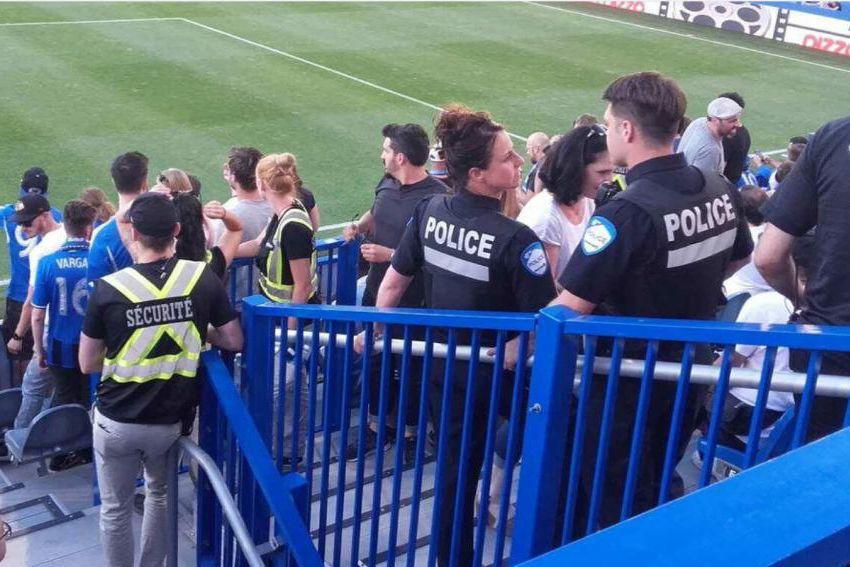 L'Impact a demandé l'aide de la police dans... (Photo tirée de Twitter)