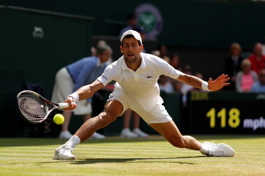 Novak Djokovic... (Photo Andrew Couldridge, Reuters)
