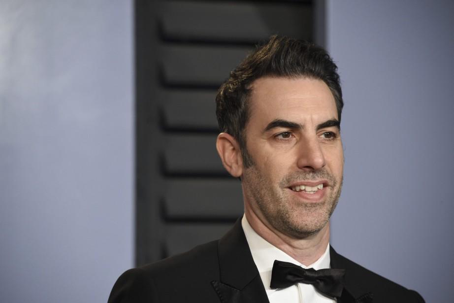 Le comédien britanniqueSacha Baron Cohen... (photo Evan Agostini, Invision, via l'Associated Press)