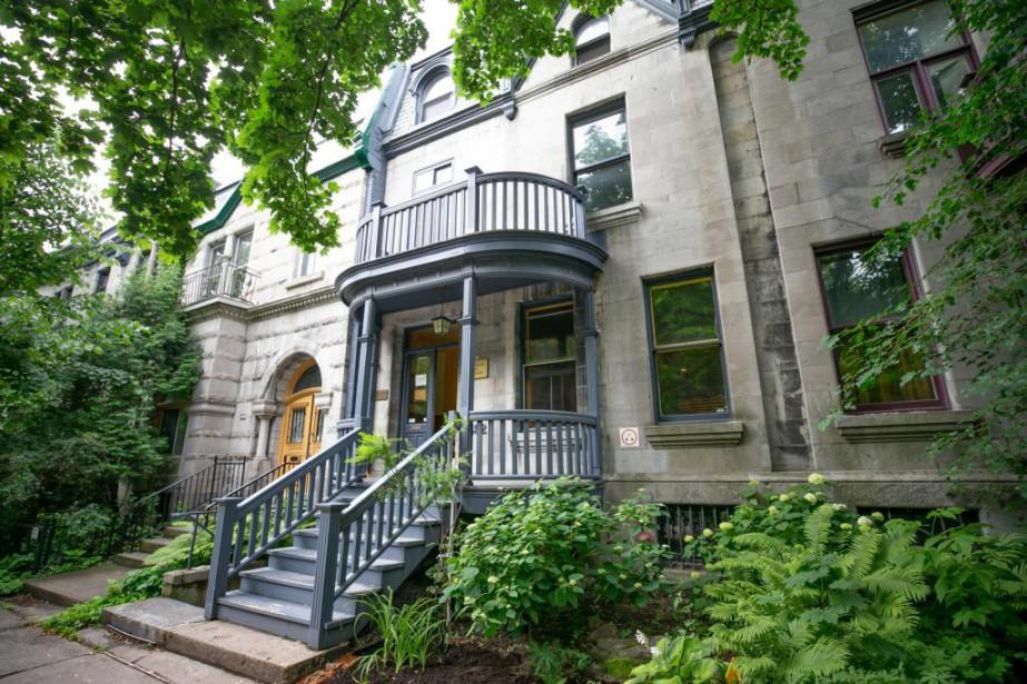 Sise rue Laval, la Maison des écrivains fut... (PHOTO DAVID BOILY, LA PRESSE)