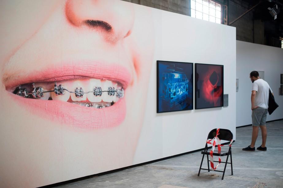 H+ du photographe suisse Matthieu Gafsou... (Photo AFP)