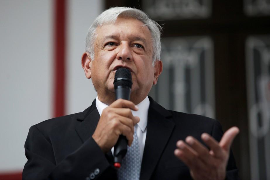 Le président élu du Mexique, Andres Manuel López... (PHOTO REUTERS)