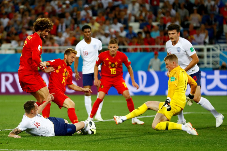 La Belgique a défait l'Angleterre 1-0 dans leur... (Photo Fabrizio Bensch, archives Reuters)