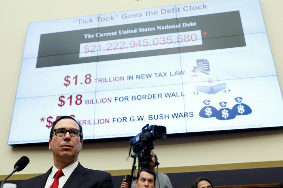 Le secrétaire américain au Trésor, Steven Mnuchin... (PHOTO Joshua Roberts, REUTERS)