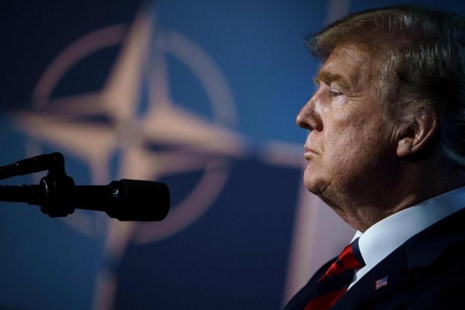 Le président des États-Unis, Donald Trump... (Photo Brendan Smialowski, Agence France-Presse)