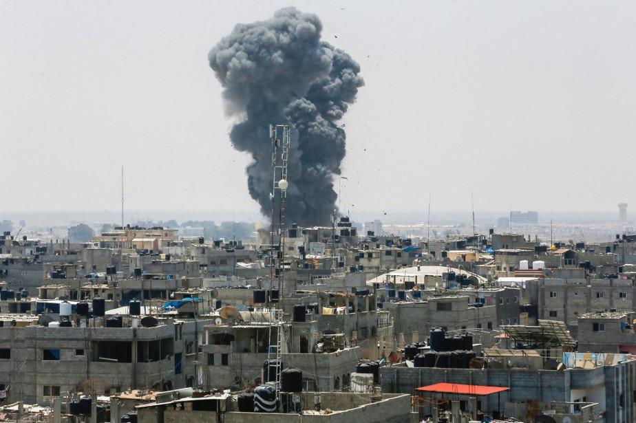 Selon des sources de sécurité palestiniennes et des... (PHOTO SAID KHATIB, AFP)