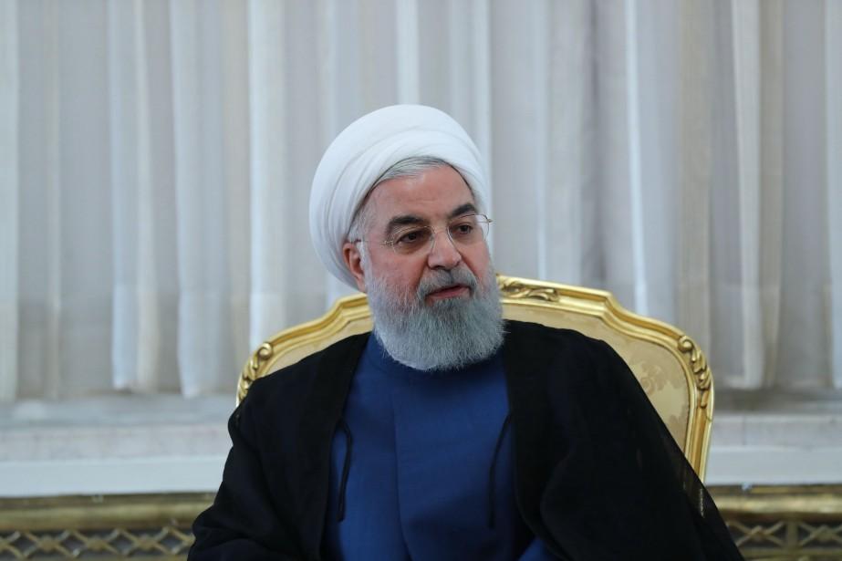 Le président iranien Hassan Rohani... (PHOTO AFP/GOUVERNEMENT IRANIEN)