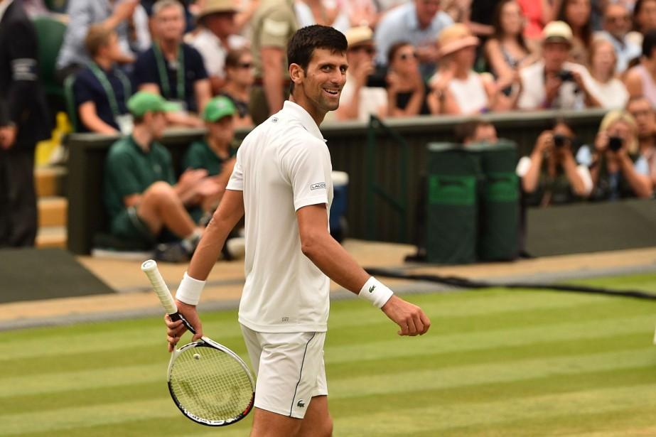 Novak Djokovic affrontera le Sud-Africain Kevin Anderson en... (PHOTO Glyn KIRK, AFP)