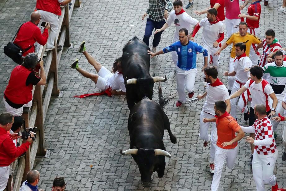 Le festival San Fermin... (Photo Susana Vera, Reuters)