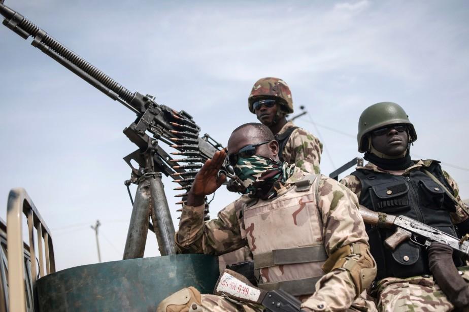 Cinq officiers comptent parmi les disparus.... (photo Stefan Heunis, Archives AFP)