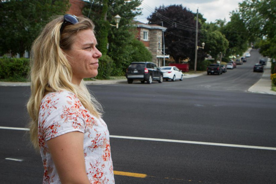 Résidante de Montréal-Nord, Julie-Anne Moreau demande depuis plus... (Photo Alexis Aubin, collaboration spéciale)