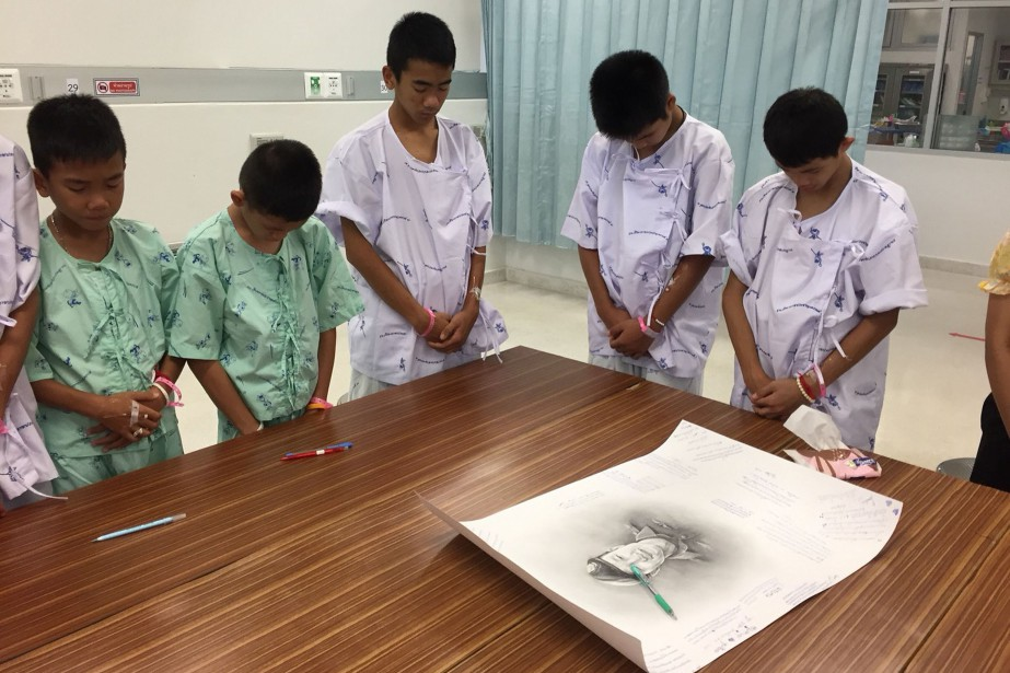 Les garçons, âgés de 11 à 16 ans... (Photo AFP)