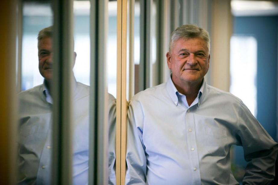 André Larente est le président de Diagnos... (PhotoFRANÇOIS ROY, LA PRESSE)