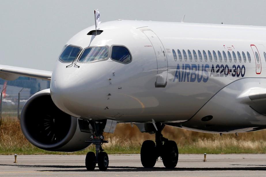 Au Québec, l'industrie aérospatiale représente plus de 40000emplois... (Regis Duvignau, archives REUTERS)