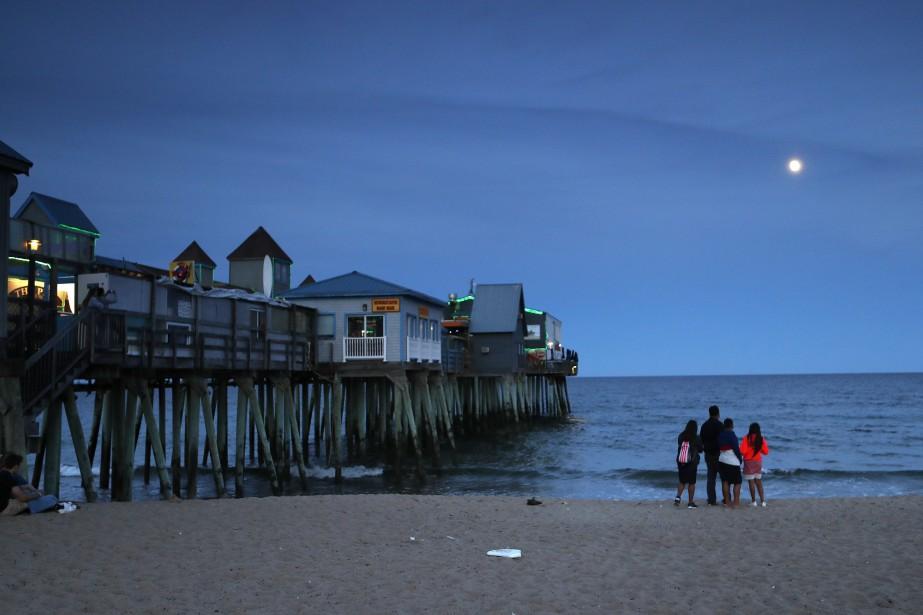 À Old Orchard Beach, une destination populaire auprès... (AP)