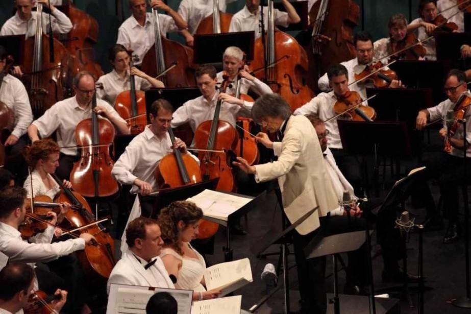 LebarytonLucas Meachem, la soprano Sarah Wegener, maestro Kent... (photo fournie par pure perception)