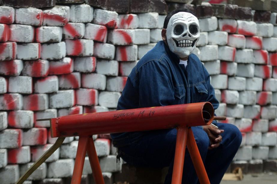 Masaya, la ville la plus rebelle du Nicaragua,... (AFP)
