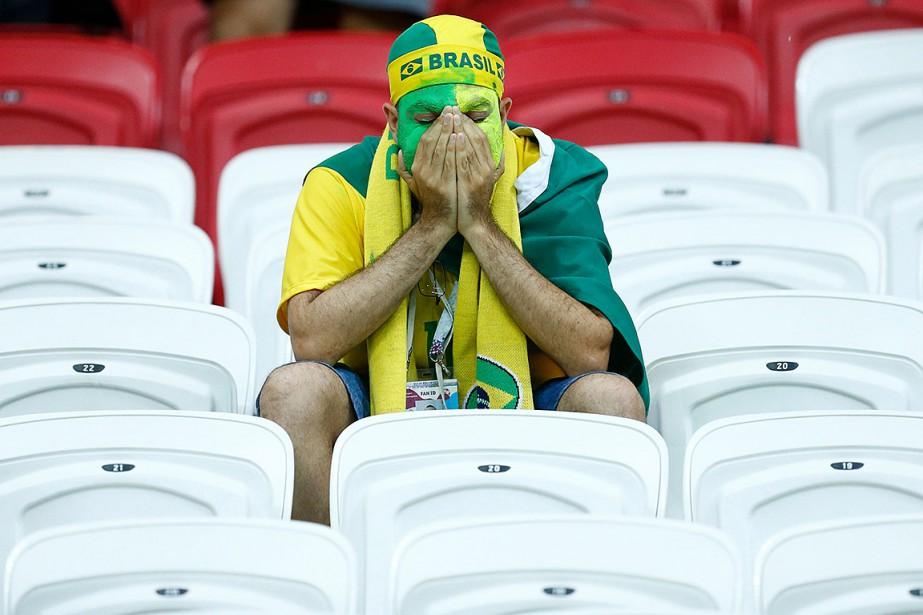 Même si le Brésil a déçu ses fans... (BENJAMIN CREMEL, ARCHIVES AFP)