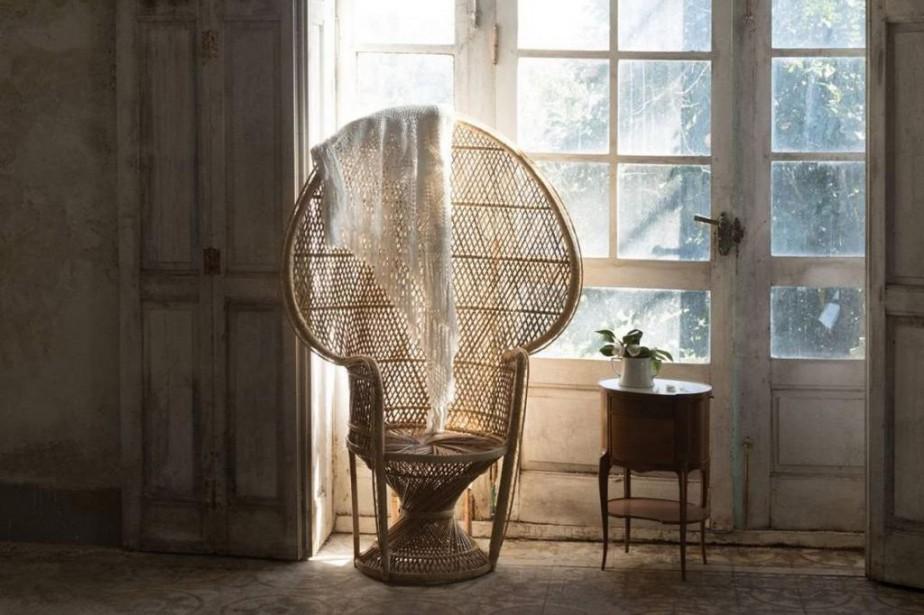 Le fauteuil Pomare a regagné en popularité avec... (Photo tirée du site d'Etsy (blueanemone.com))