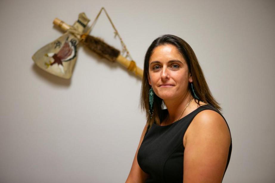 Michelle Picard, 37ans, gestionnaire... (Photo David Boily, La Presse)