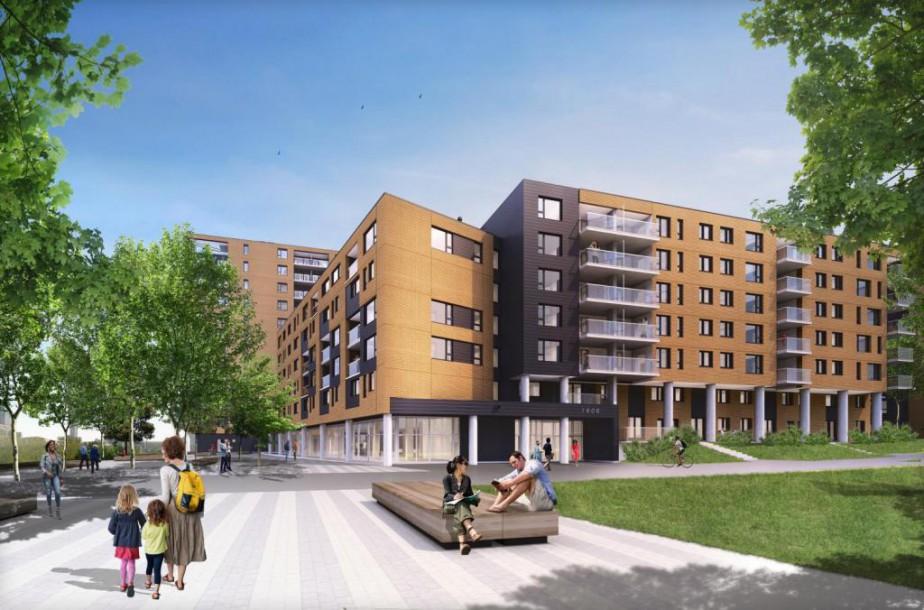 À l'automne, 78 logements abordables seront mis en... (ILLUSTRATION FOURNIE PAR LA SHDM)