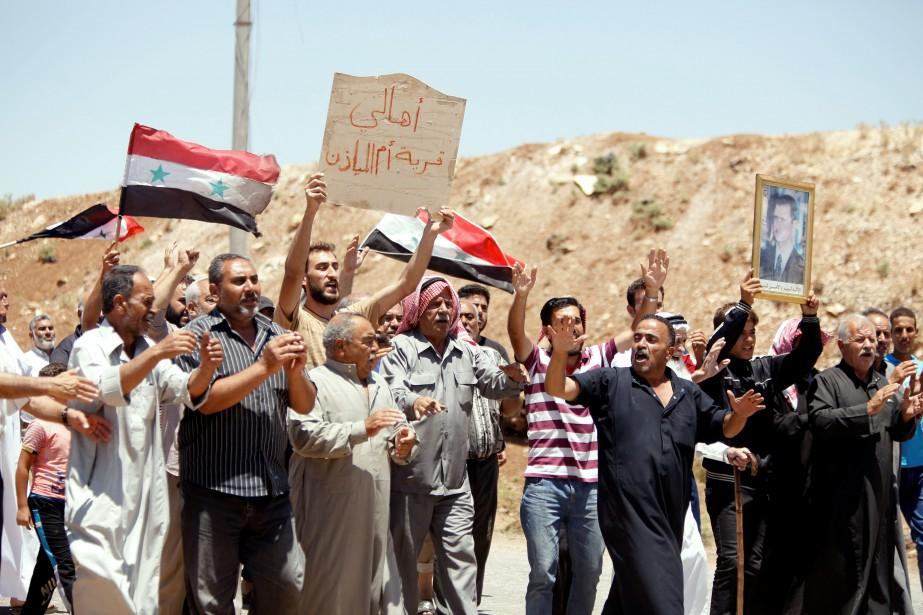Déclenché en 2011 par la répression gouvernementale de... (photo Omar Sanadiki, REUTERS)