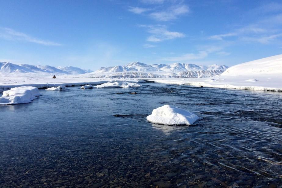 L'Extrême-Arctique est aux prises avec un des changements... (Photo archives La Presse canadienne)