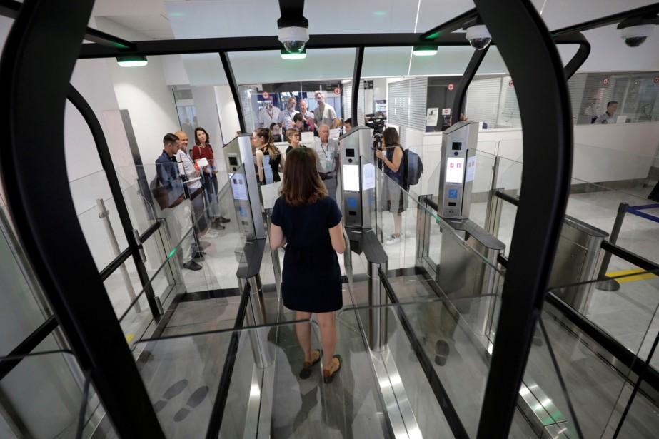 L'aéroport de Nice commencera lundi à utiliser la... (Photo reuters)