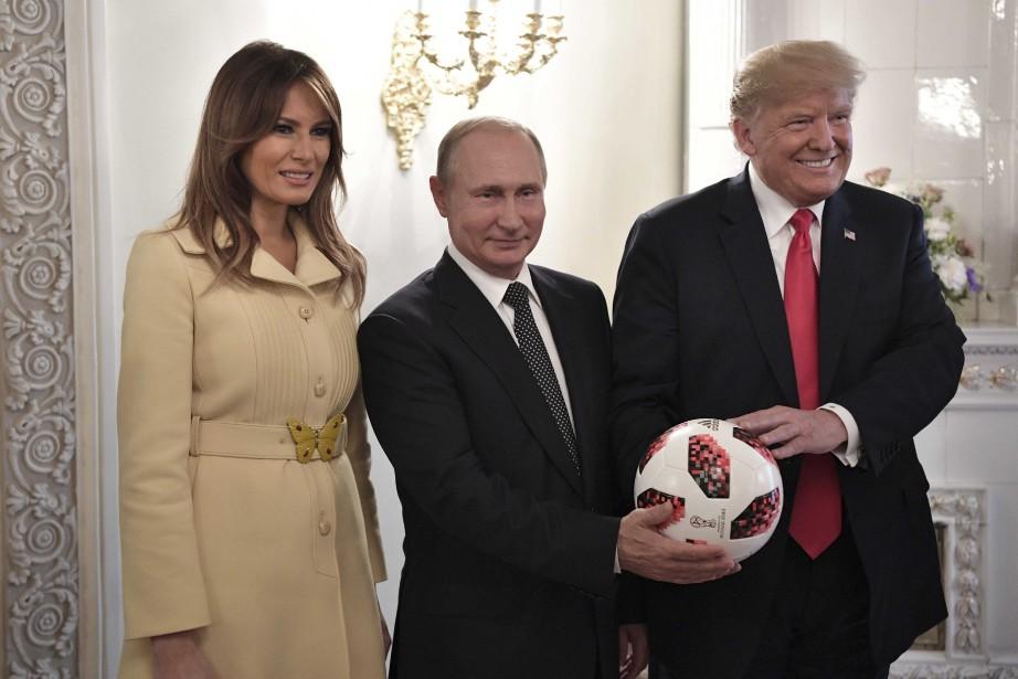«C'est une personne très compétente, il connaît les... (photo Sputnik, Alexei Nikolsky, Kremlin, via REUTERS)