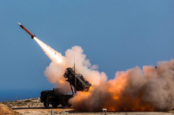 Un système demissile sol-air Patriot MIM-104.... (ARCHIVES AP)