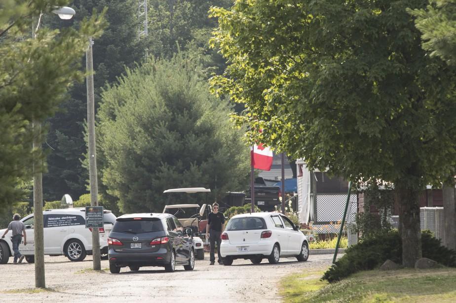 L'accident est survenu au campingDomaine Sentinelle.... (PHOTO HUGO-SÉBASTIEN AUBERT, LA PRESSE)
