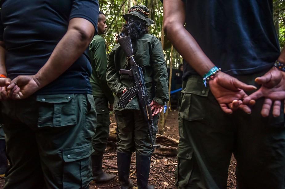 Selon le ministre colombien de la Défense, le... (ARCHIVES AFP)