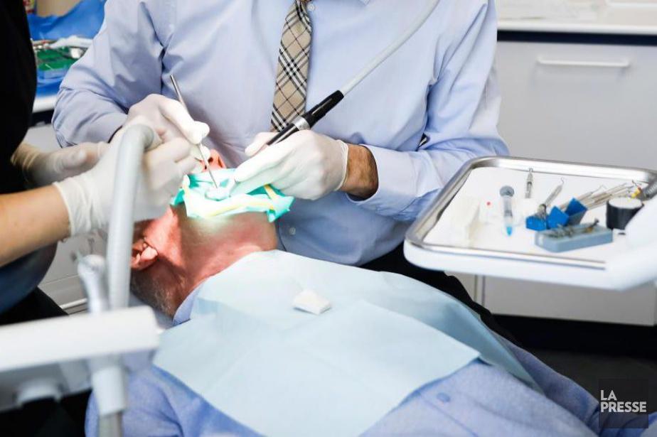 La demande des dentistes survient à neuf jours... (ARCHIVES LA PRESSE)