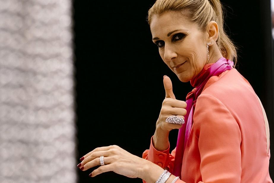 Céline Dion, au lancement de sa ligne de... (Renaud Philippe, archives The New York Times)
