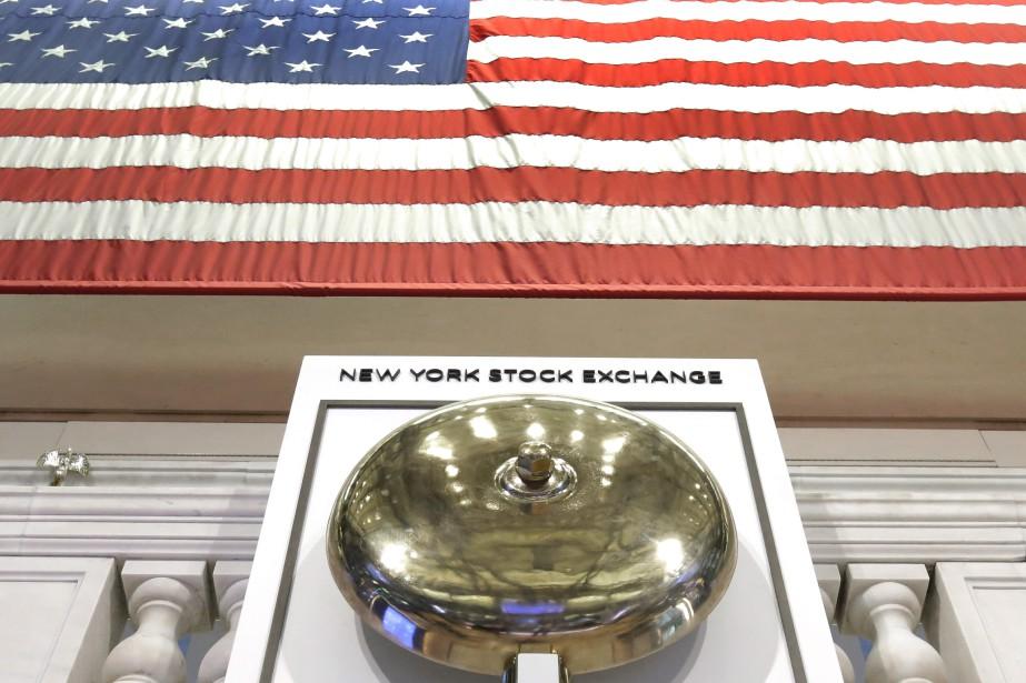 La Bourse de New York reculait légèrement... (Photo Richard Drew, archives AP)