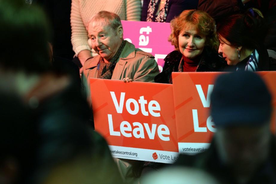 Les Britanniques avaient voté à 52% pour sortir... (Photo archives, AFP)