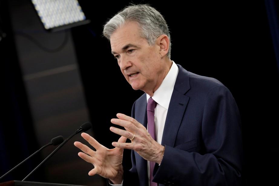 Le président de la Banque centrale américaine, Jerome... (Photo archives Reuters)