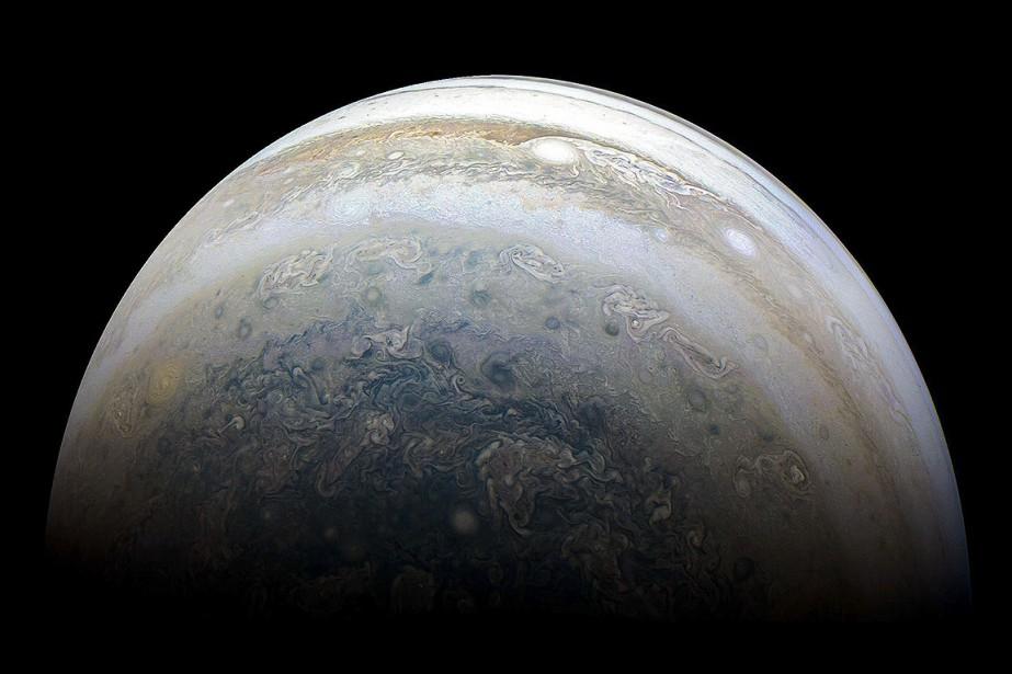 La planète Jupiter.... (NASA)