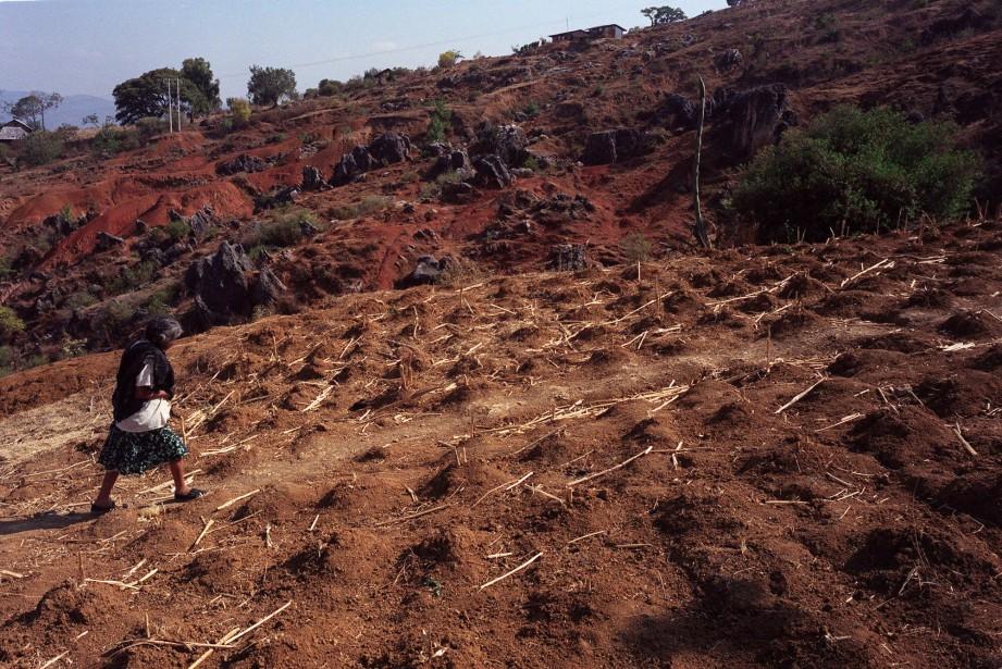 L'État de Oaxaca, l'un des plus pauvres du... (ARCHIVES AP)
