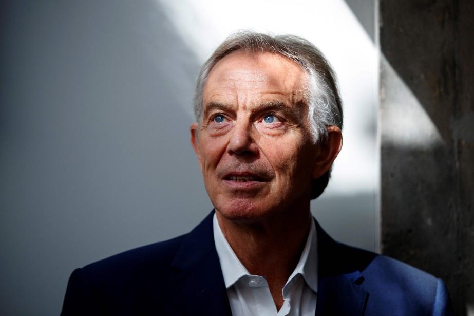 Tony Blair qualifie le plan de Theresa May... (PHOTO AFP)