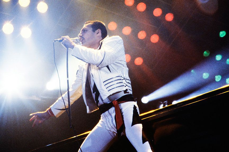 Freddie Mercury... (Photo archives Agence France-Presse)